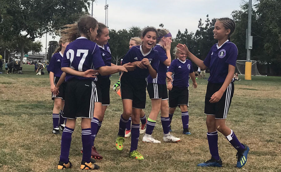 dublin fall classic 2018 2008 girls purple celebrate